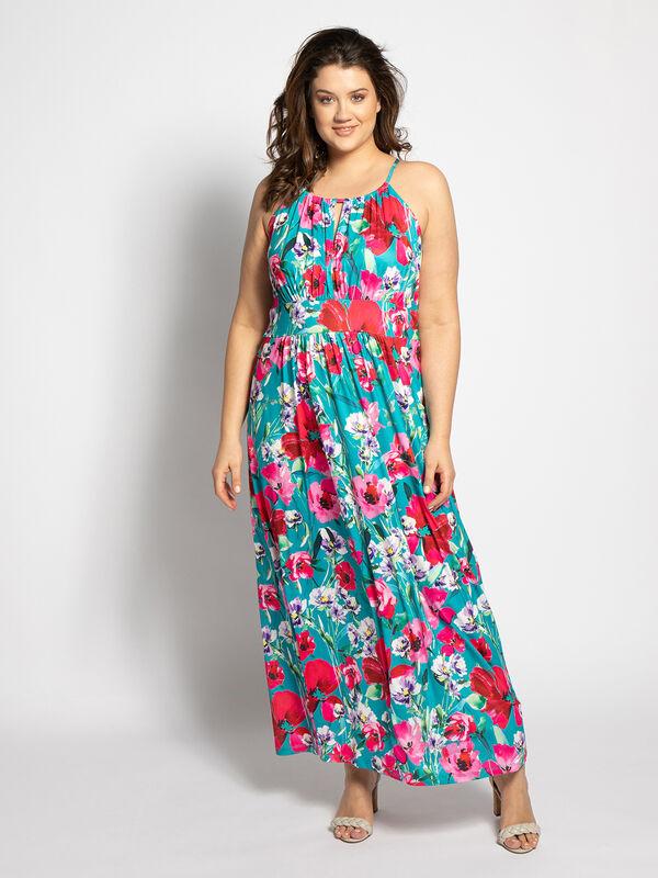 Maxi Dress (Large Size)