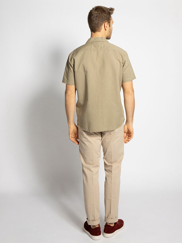 Slim-Fit Short Sleeve Shirt