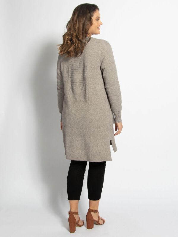Knit Jacket (Large Size)