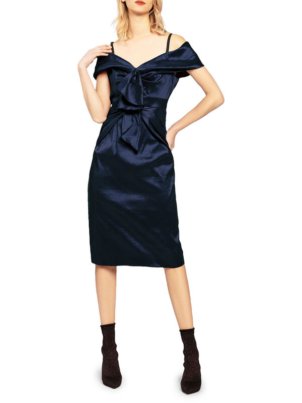 Taffeta Dress